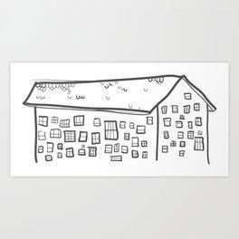 The Incredible Windex Score Art Print