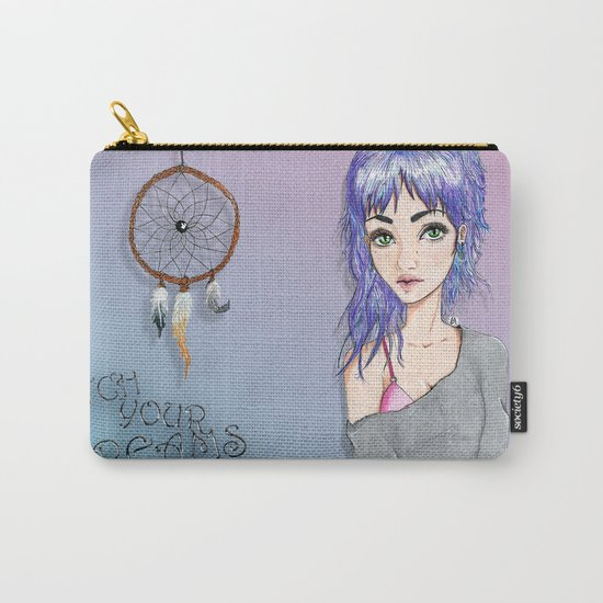Chasing Dreams Carry-All Pouch