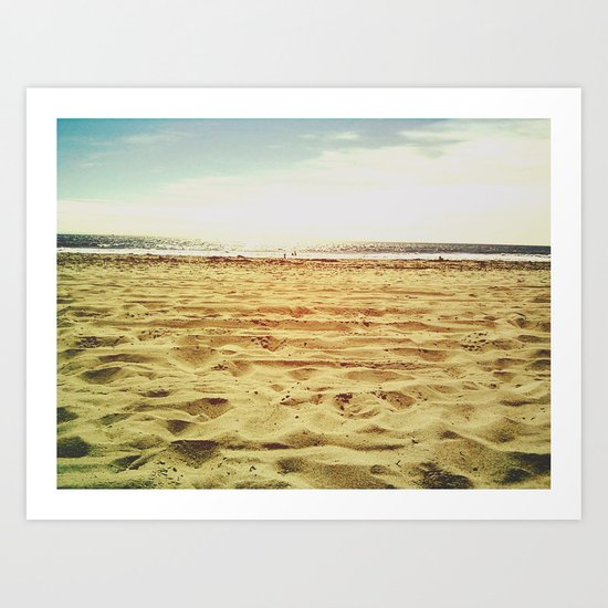 Time in the Sand Art Print