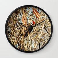 woody Wall Clocks featuring Woody by DeLayne