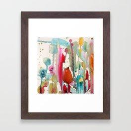 jouons aux bois Framed Art Print
