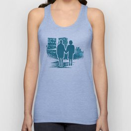 You met me at a very strange time in my life. Unisex Tank Top