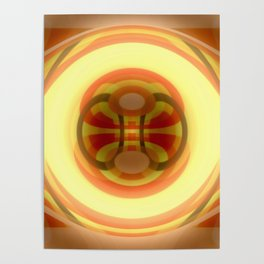 Spacetime path Poster