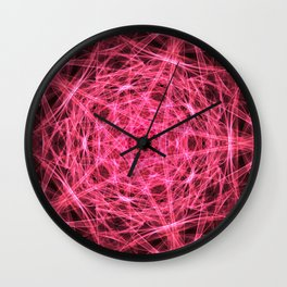 A study in pink 21 Wall Clock