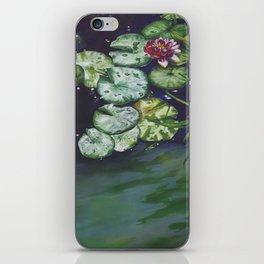 Water meditation I iPhone Skin