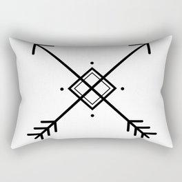 Cross arrows Rectangular Pillow