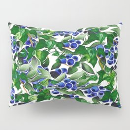 Blueberries and Ivy Pillow Sham