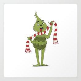 The Grinch Art Print