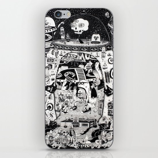 contacto real iPhone & iPod Skin