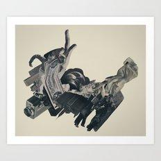 the bandolier of broken dreams Art Print
