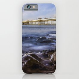 Llandudno Pier iPhone Case