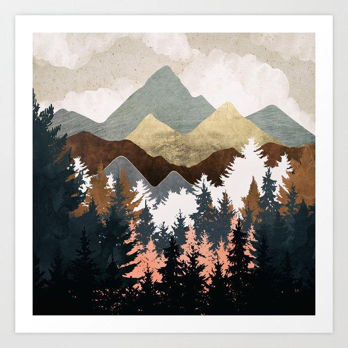 Forest View Kunstdrucke