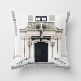 Special Edition Baja Facade (Church) Throw Pillow