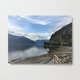 Wanderlust Your Heart Away Metal Print