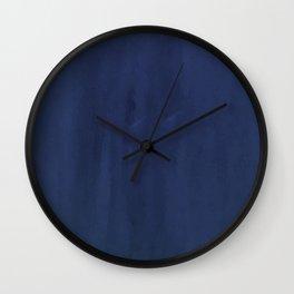 Indigo Velvet Wall Clock