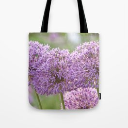 Purple Dream - Allium Globemaster #1 #decor #art #society6 Tote Bag