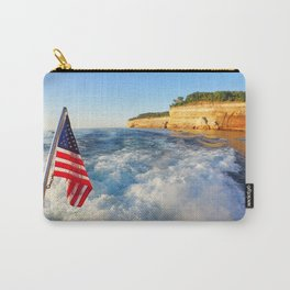Pictured Rocks Flag Carry-All Pouch