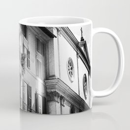 The romantic windows of Rome | Italy | Black & White Photography | Travel & Street Photography | Photo Print | Art Print Coffee Mug