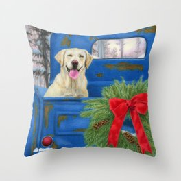Pick-En Up The Christmas Tree Throw Pillow