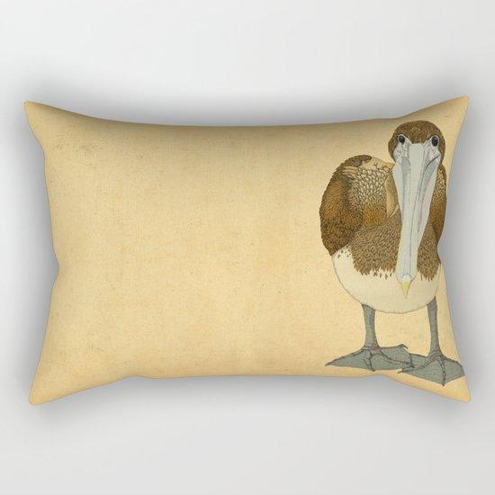 Ploffskin Pluffskin Pelican Jee Rectangular Pillow