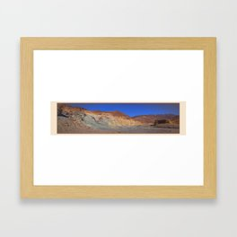River Bed On The Hi Plateau Framed Art Print