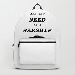 World of Warships - All you need is a Warship Backpack