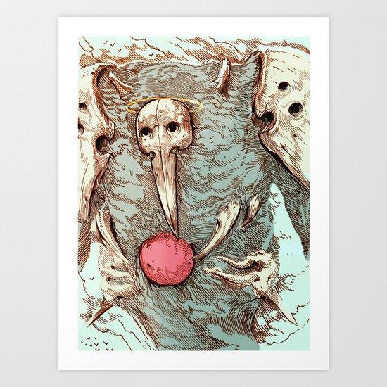SACHIEL II Art Print