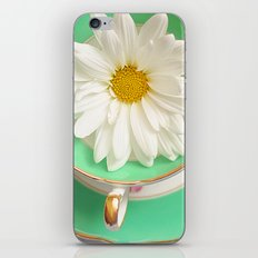 Mint Tea iPhone & iPod Skin
