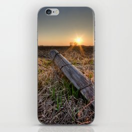 End of the Day iPhone Skin