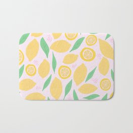 Pink Lemonade II Bath Mat