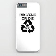 Recycle Black Slim Case iPhone 6s