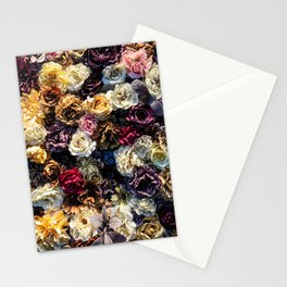 Flower Wall // Full Color Floral Accent Background Jaw Dropping Decoration Stationery Cards
