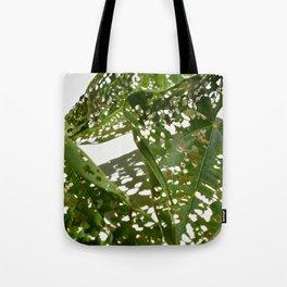Leaf Light Group Tote Bag