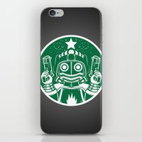 star lord iPhone & iPod Skins featuring Star Lord Coffee by LavaLamp Creative
