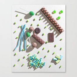 Space Candy Canvas Print