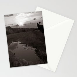 "Maritime Landscape - Old Port - Trapani - Sicily - ""Vacancy"" zine Stationery Cards"