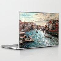 venice Laptop & iPad Skins featuring Venice by MehrFarbeimLeben