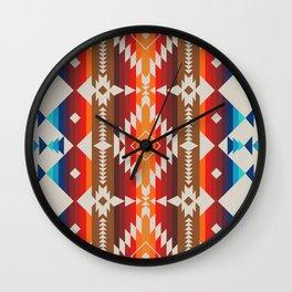 POW WOW Wall Clock