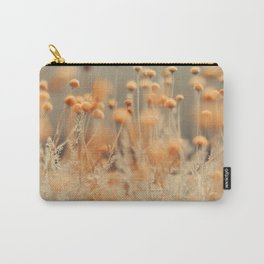 Mustard Yellow Flowers Carry-All Pouch