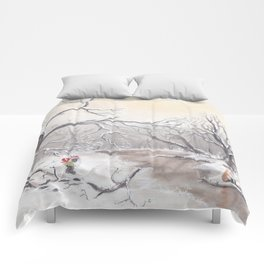 Gnome and fox Comforters