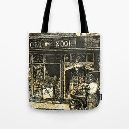 Nook's Grocery and C. Redd's Mobile Art Emporium Tote Bag