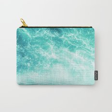 Deep Green Sea Carry-All Pouch