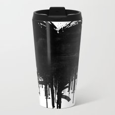 Dark Heart Metal Travel Mug