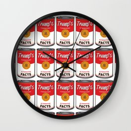 Trump's Canned Goods Wall Clock