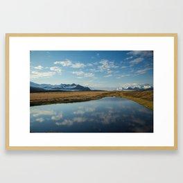 Scenes Along the Golden Circle Framed Art Print
