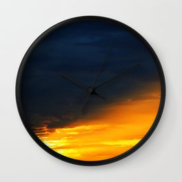 Dusk and Dawn Wall Clock