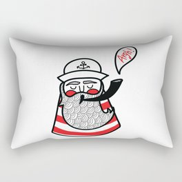 Mr Argh! Rectangular Pillow