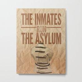Asylum. Metal Print
