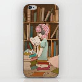 I Love Books iPhone Skin