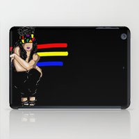 depression iPad Cases featuring Depression by Hannah  Aryee